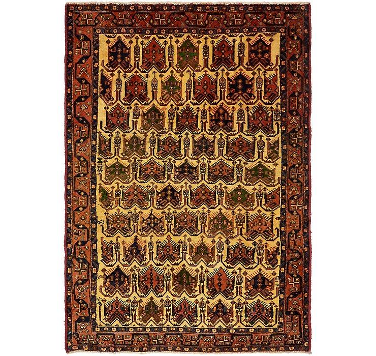 4' 10 x 7' Shahrbaft Persian Rug
