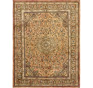Link to 9' 11 x 13' Mashad Persian Rug
