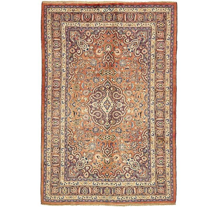 6' 7 x 9' 9 Mashad Persian Rug