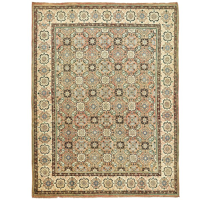 297cm x 395cm Farahan Persian Rug