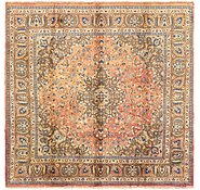 Link to 9' 6 x 9' 6 Mashad Persian Square Rug