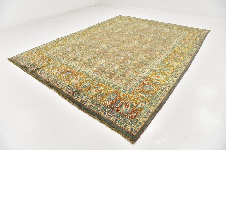 HandKnotted 9' 10 x 13' Kashmar Persian Rug