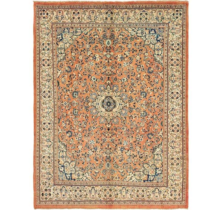 10' x 13' 9 Meshkabad Persian Rug