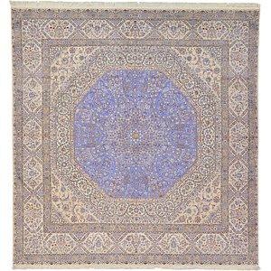 9' 11 x 10' 4 Nain Persian Square Rug