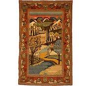 Link to 4' 2 x 6' 9 Kashan Persian Rug