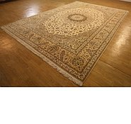 Link to 10' x 14' 5 Nain Persian Rug