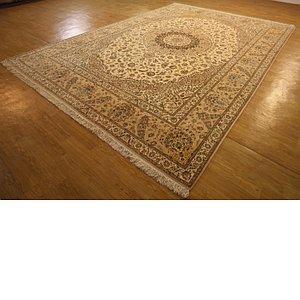 Unique Loom 10' x 14' 5 Nain Persian Rug