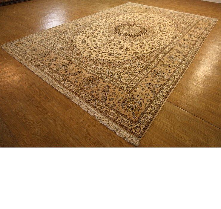10' x 14' 5 Nain Persian Rug
