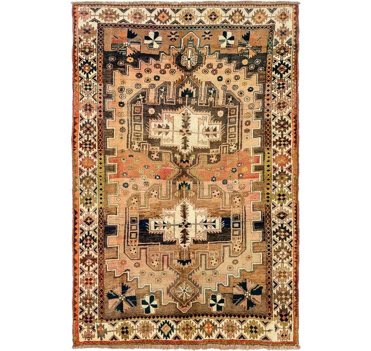 6' 6 x 9' 9 Bakhtiari Persian Rug