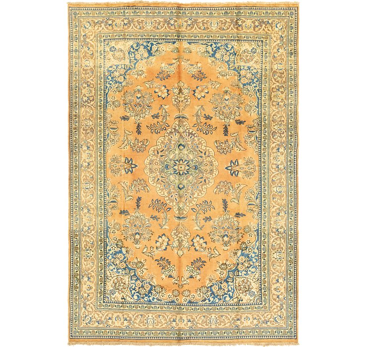 7' x 10' 8 Golpayegan Persian Rug