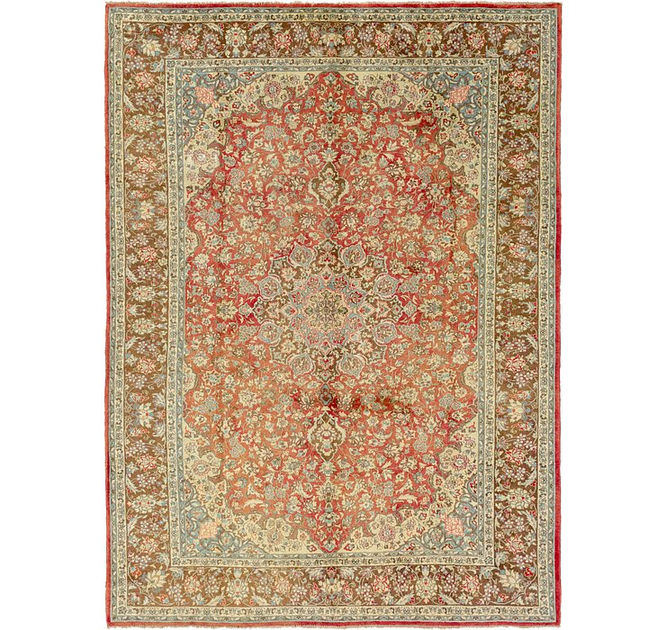 9' 9 x 13' 5 Isfahan Persian Rug