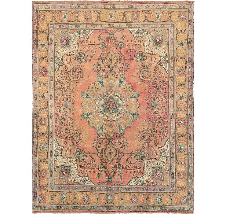 10' x 13' Tabriz Persian Rug