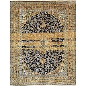 9' 8 x 12' 5 Kashan Persian Rug