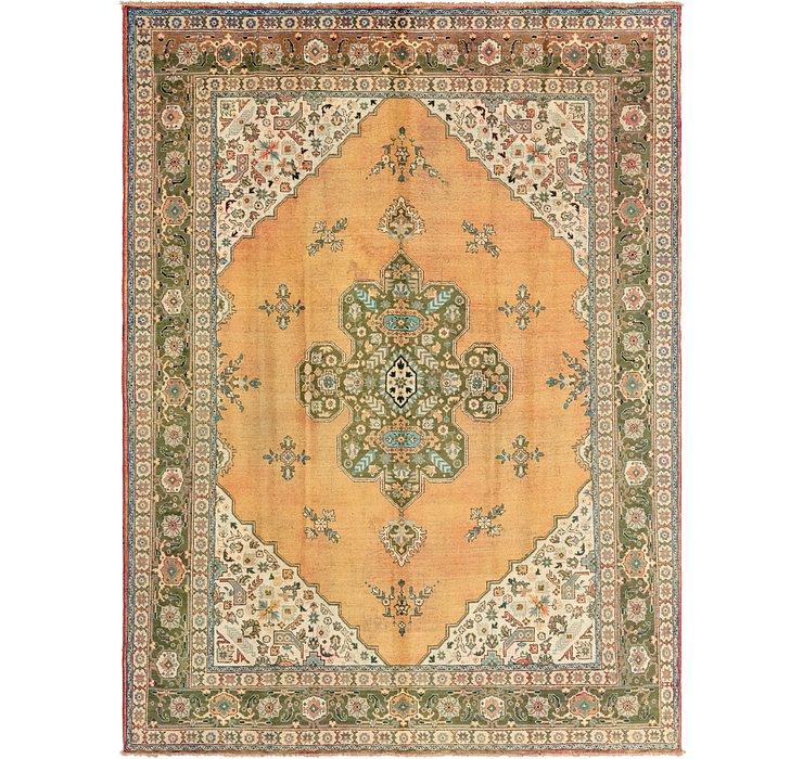 9' 6 x 12' 8 Tabriz Persian Rug