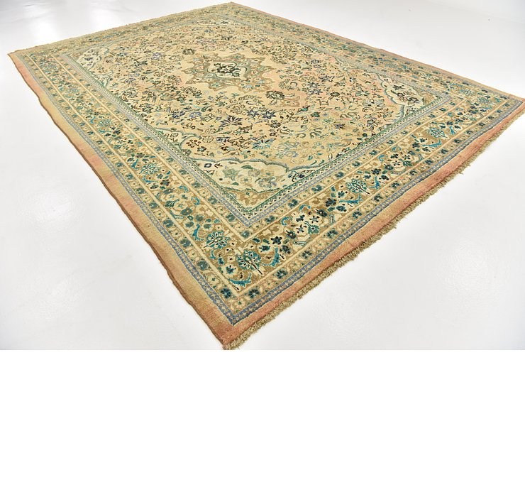 9' 7 x 13' 7 Meshkabad Persian Rug
