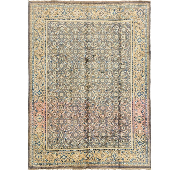 8' x 10' 9 Farahan Persian Rug