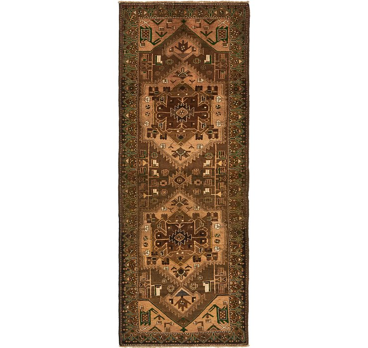 3' 11 x 10' 3 Saveh Persian Runner Rug