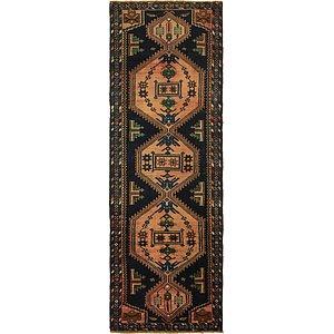 3' 5 x 10' 4 Mazlaghan Persian Runne...