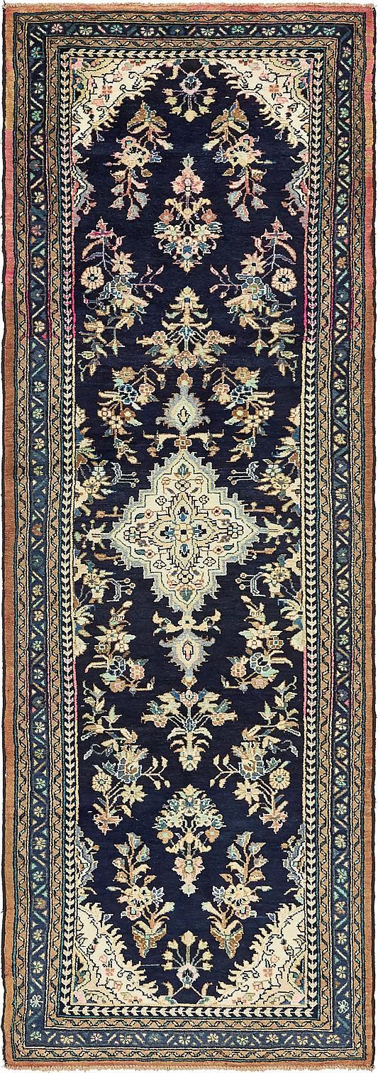 3 5 X 10 2 Hamedan Persian Runner Rug