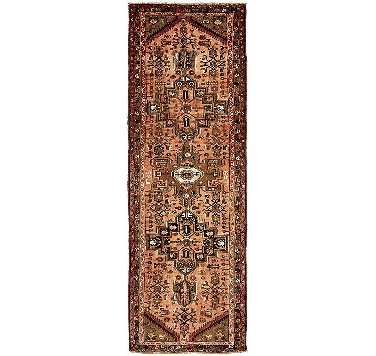 3' 4 x 10' 2 Zanjan Persian Runner Rug