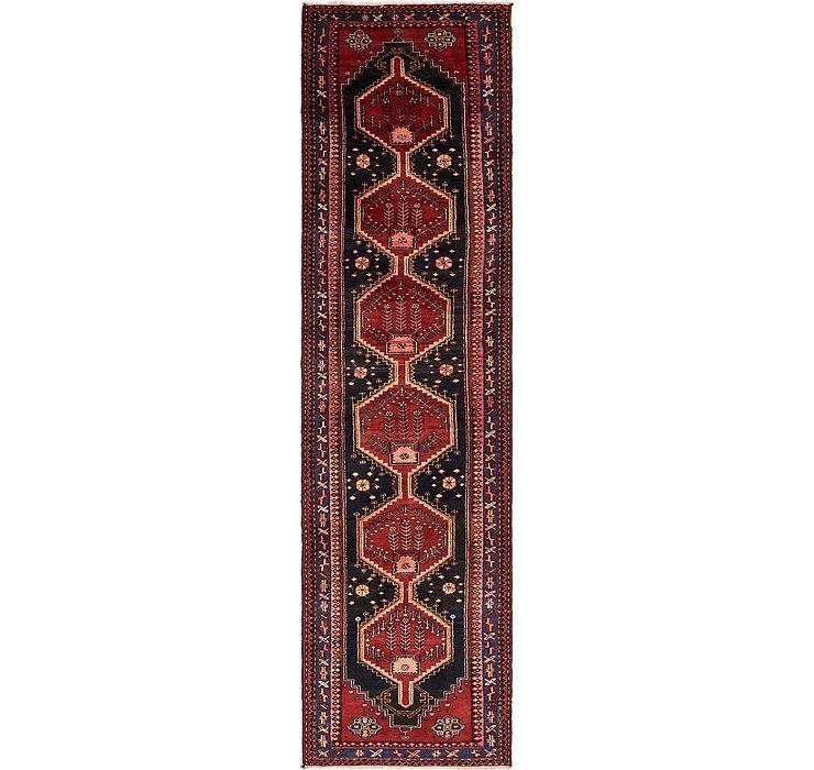 107cm x 415cm Saveh Persian Runner Rug