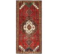 Link to 137cm x 297cm Hamedan Persian Runner Rug