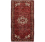 Link to 163cm x 318cm Hossainabad Persian Runner Rug