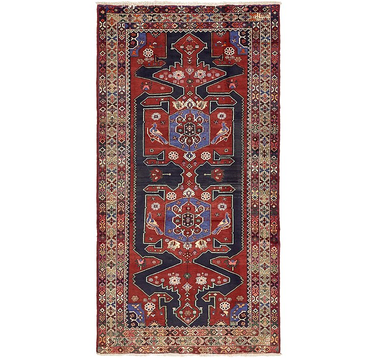155cm x 290cm Zanjan Persian Rug
