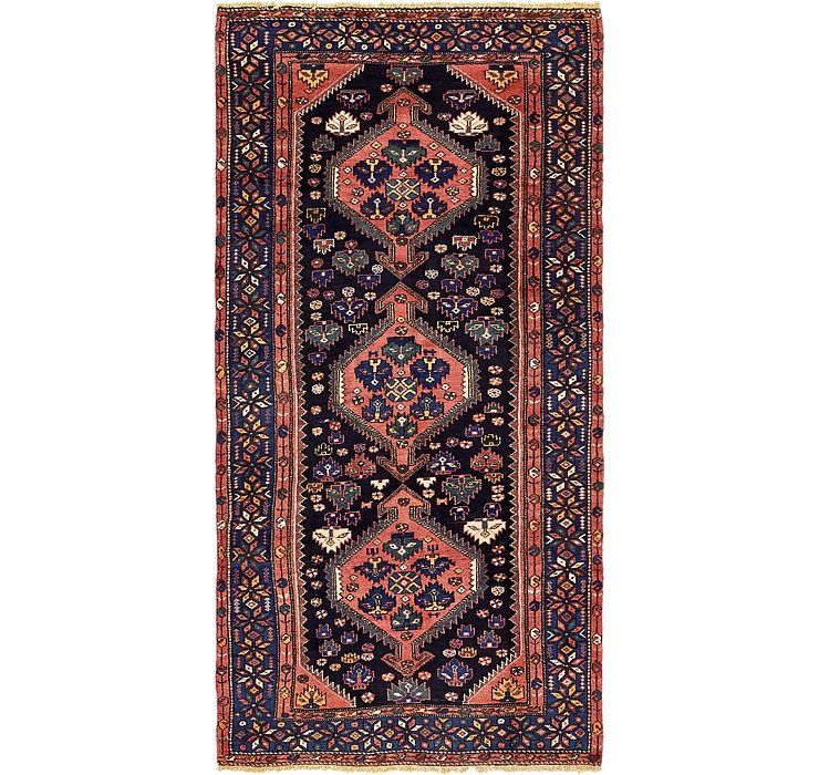 4' 6 x 9' 2 Zanjan Persian Runner Rug