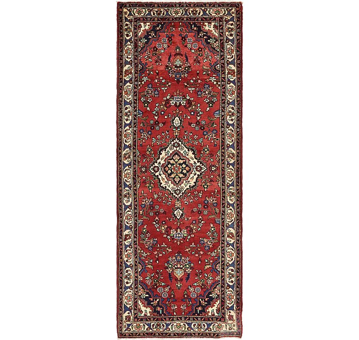 3' 10 x 10' 7 Hamedan Persian Runner ...