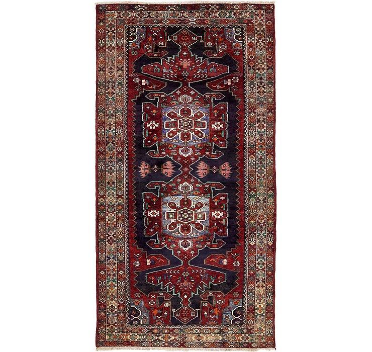 4' 10 x 10' Saveh Persian Runner Rug