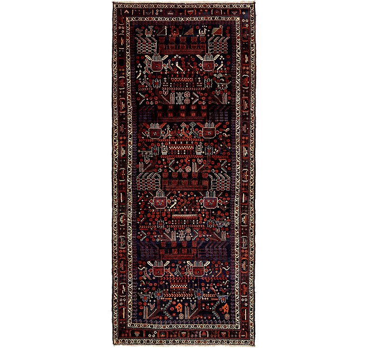 152cm x 358cm Tafresh Persian Runner ...