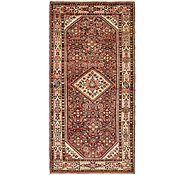 Link to 157cm x 340cm Hossainabad Persian Runner Rug