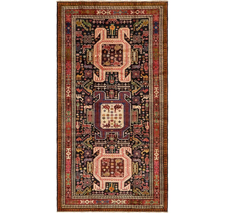 5' 3 x 10' Saveh Persian Runner Rug