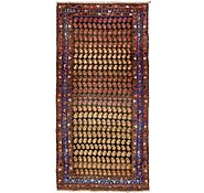 Link to 4' 6 x 9' 3 Hamedan Persian Runner Rug