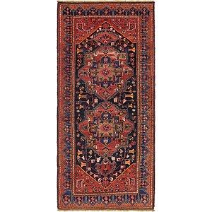 4' 3 x 9' 9 Zanjan Persian Runner Rug