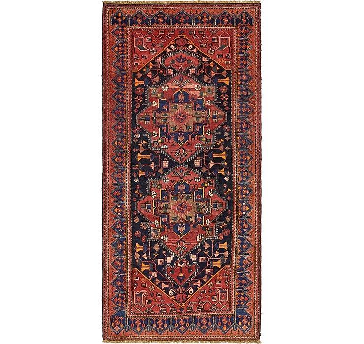 130cm x 297cm Zanjan Persian Runner Rug