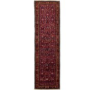 Link to 3' 8 x 13' 9 Hossainabad Persian Runner Rug