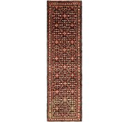 Link to 3' 11 x 13' 4 Hossainabad Persian Runner Rug