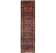 Link to 3' 11 x 14' Hossainabad Persian Runner Rug