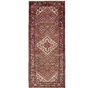 Link to 135cm x 307cm Hossainabad Persian Runner Rug