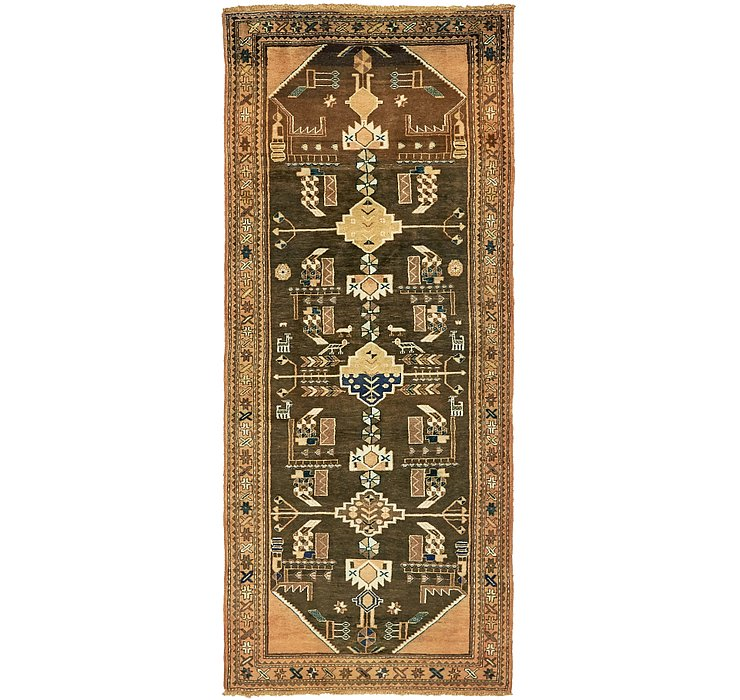 3' 10 x 9' 6 Saveh Persian Runner Rug
