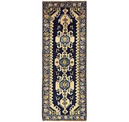 Link to 3' 7 x 9' 9 Hamedan Persian Runner Rug