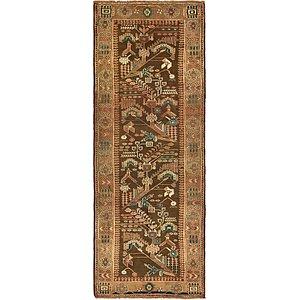 110cm x 302cm Saveh Persian Runner Rug
