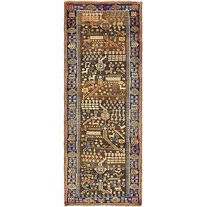 107cm x 285cm Saveh Persian Runner Rug
