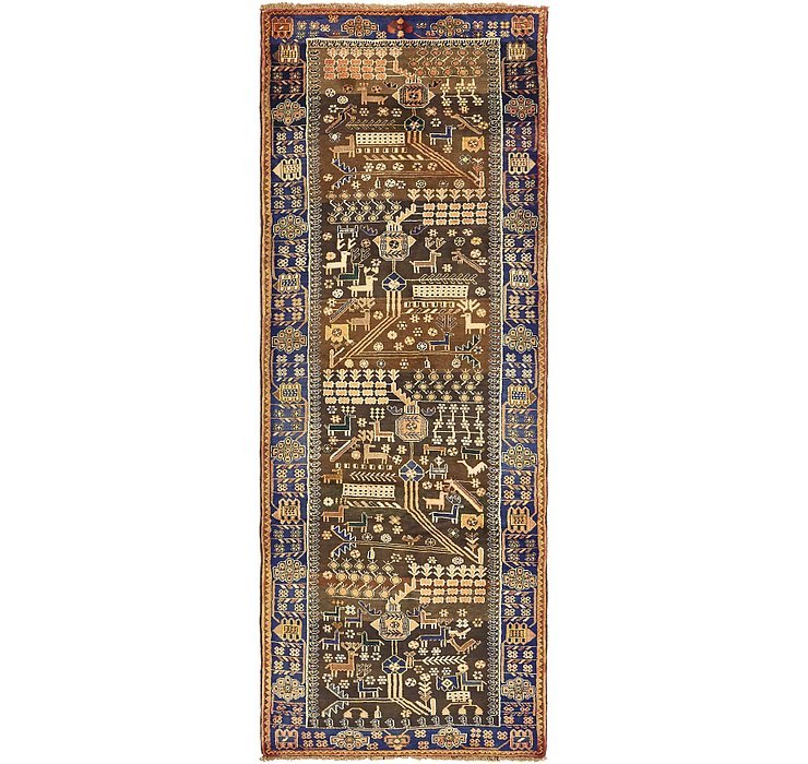 3' 6 x 9' 4 Saveh Persian Runner Rug