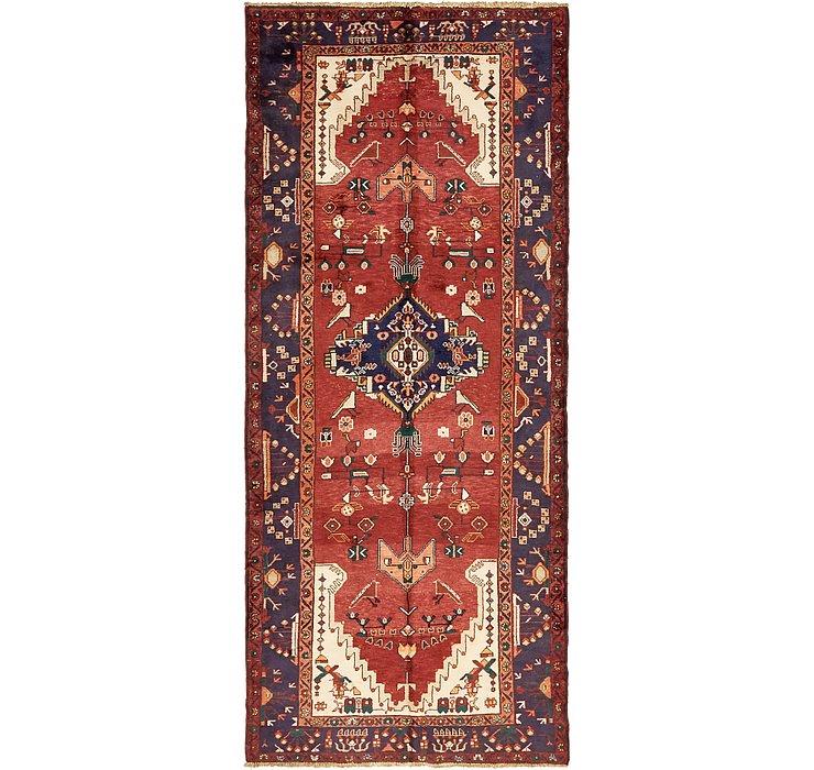 4' 3 x 10' Khamseh Persian Runner ...