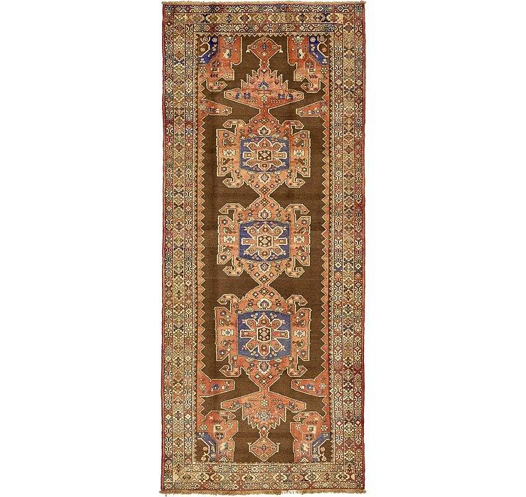 4' 11 x 12' Saveh Persian Runner Rug