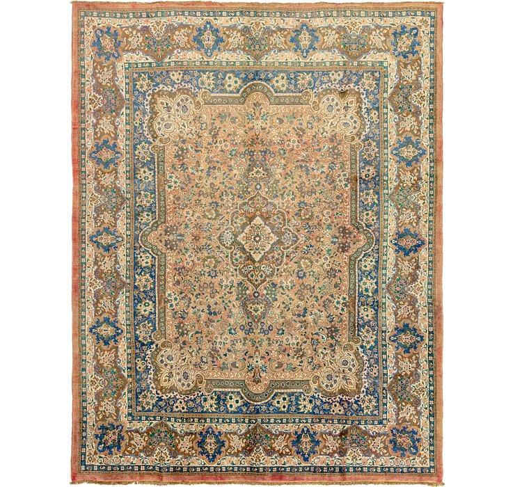 10' x 12' 10 Meshkabad Persian Rug