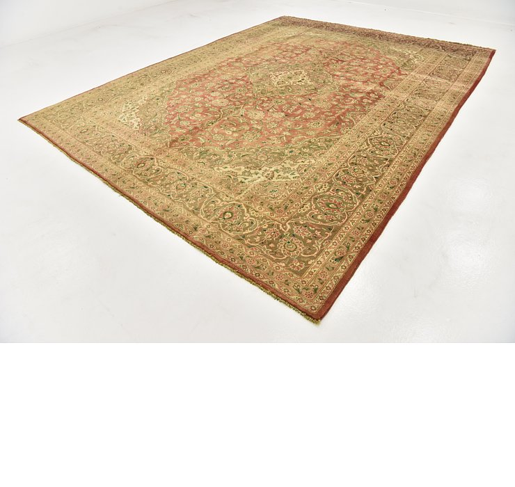 HandKnotted 9' 9 x 13' Kashan Persian Rug